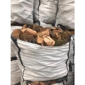 Seasoned Appletree Firewood builders bag